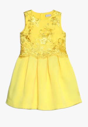 Cocktail dress / Party dress - vibrant yellow