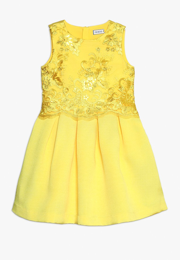 Friboo - Cocktail dress / Party dress - vibrant yellow