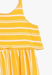 Friboo - MIDI STRAPPY DRESS - Žerzejové šaty - citrus/bright white - 3