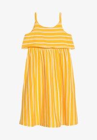 Friboo - MIDI STRAPPY DRESS - Žerzejové šaty - citrus/bright white - 2