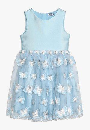 Koktejlové šaty/ šaty na párty - corydalis blue