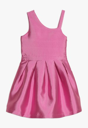 ONE-SHOULDER DRESS - Robe de soirée - super pink