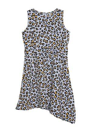Denní šaty - brunnera blue