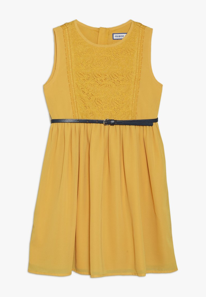 Friboo - Cocktailkleid/festliches Kleid - mineral yellow