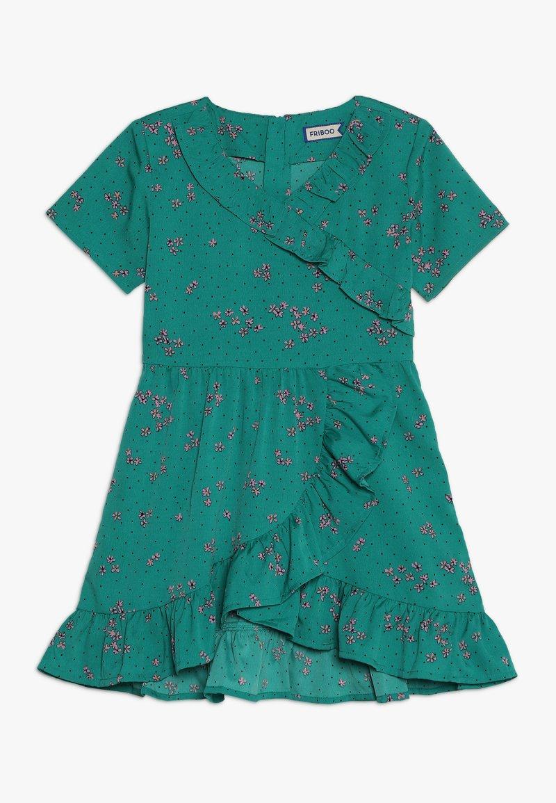 Friboo - Korte jurk - green