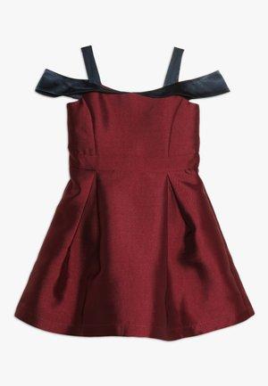 Cocktailkleid/festliches Kleid - red plum/navy