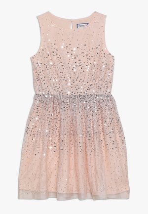 Cocktail dress / Party dress - peach melba