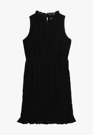 Koktejlové šaty/ šaty na párty - anthracite