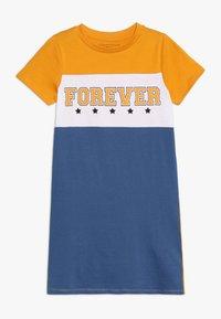 Friboo - Žerzejové šaty - yellow/true navy - 0