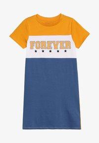 Friboo - Žerzejové šaty - yellow/true navy - 2