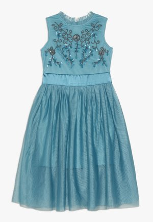 Cocktail dress / Party dress - pagoda blue