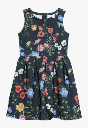 Jersey dress - black iris