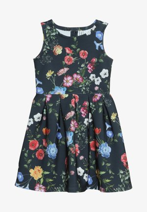 Žerzejové šaty - black iris