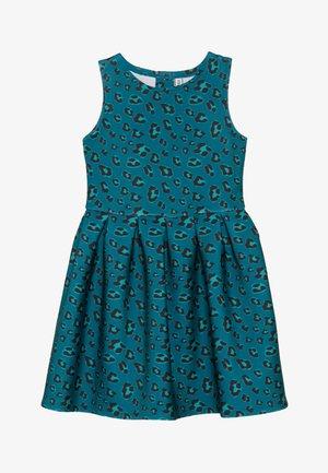 Žerzejové šaty - teal green