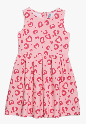 Jersey dress - powder pink