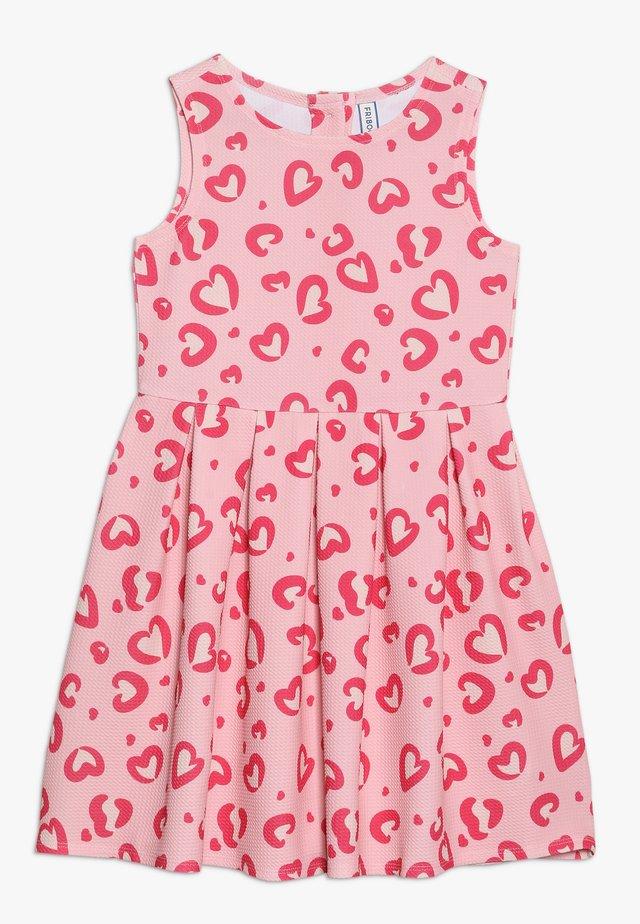 Žerzejové šaty - powder pink