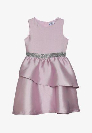 Koktejlové šaty/ šaty na párty - dawn pink