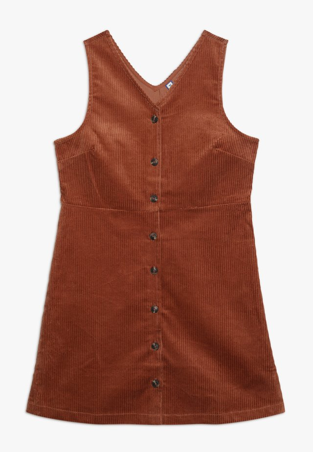 Denní šaty - auburn