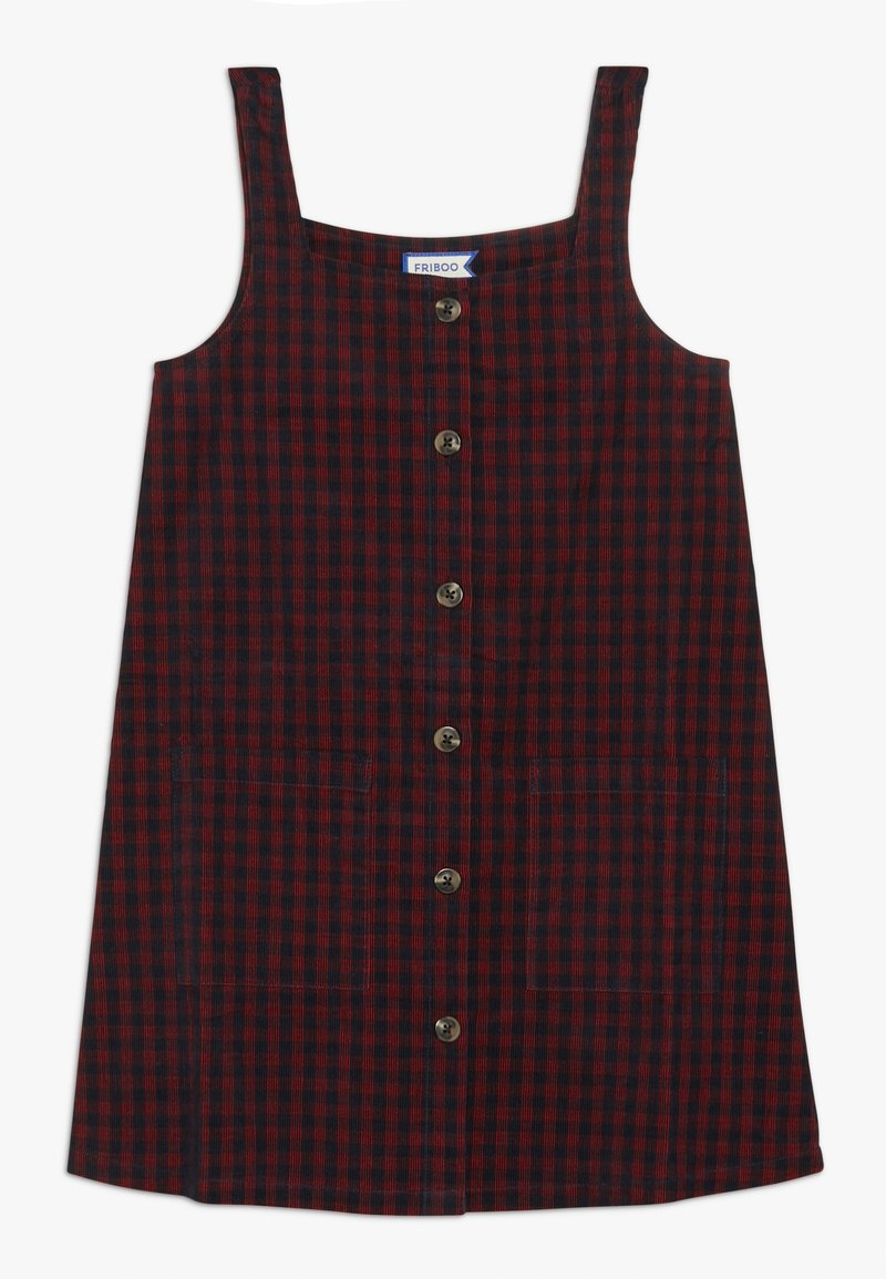 Friboo - Day dress - red/navy