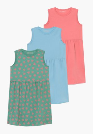 3 PACK - Jersey dress - strawberry ice