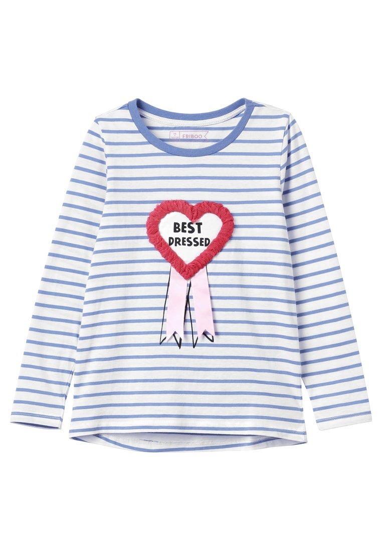Friboo - Camiseta de manga larga - true navy/bright white