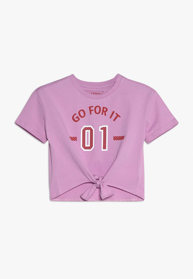 Friboo - GO FOR IT  - T-shirts print - orchid bouquet