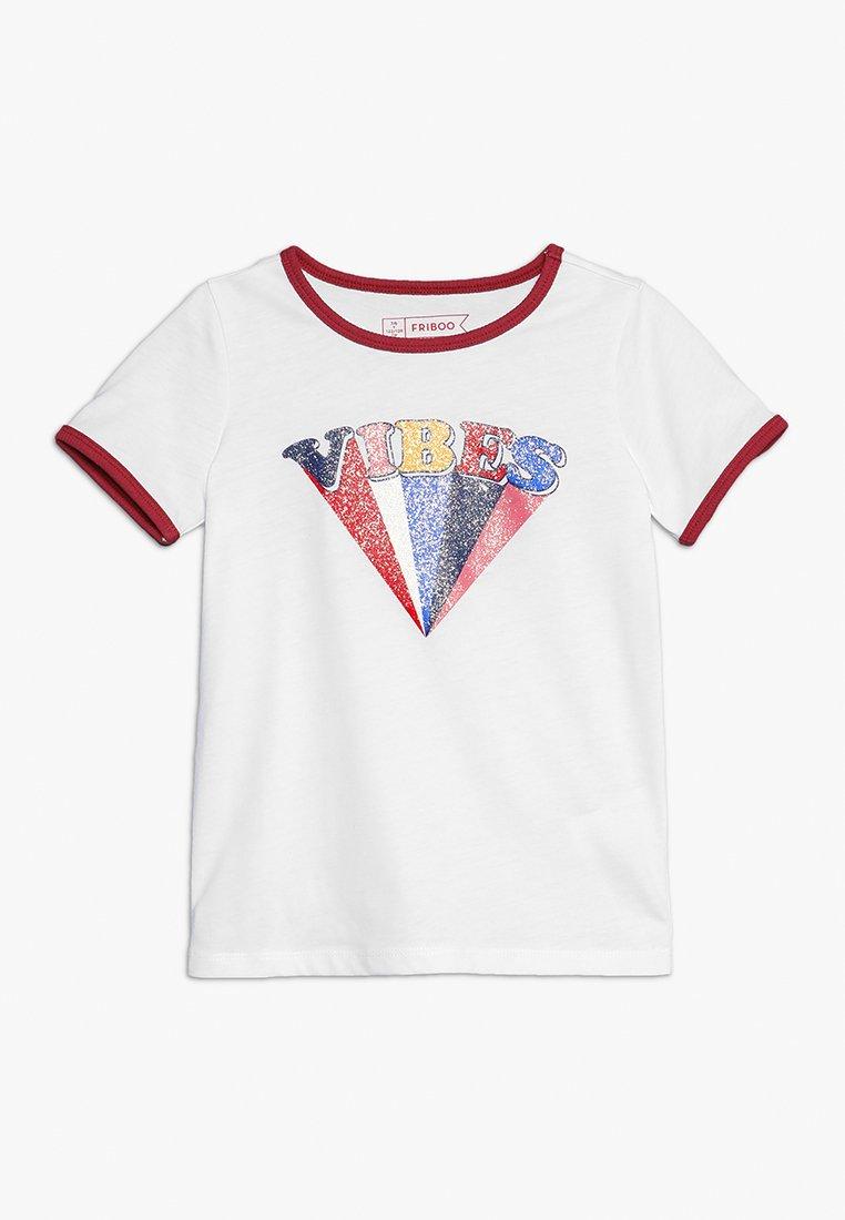 Friboo - Camiseta estampada - bright white