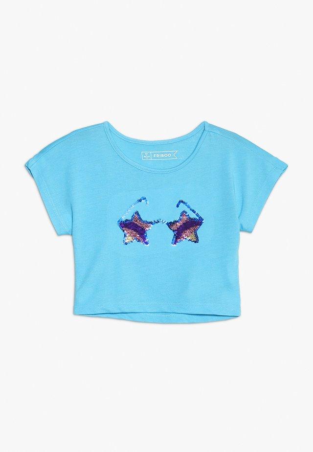 T-shirt print - aquarius