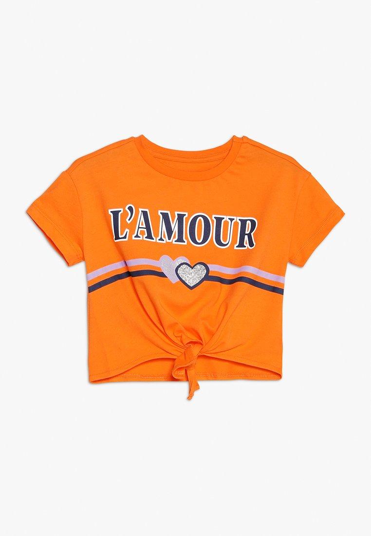 Friboo - T-Shirt print - sun orange