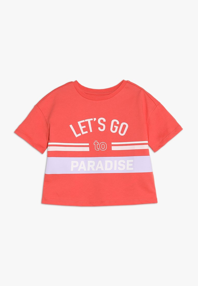 Friboo - T-shirts med print - spiced coral