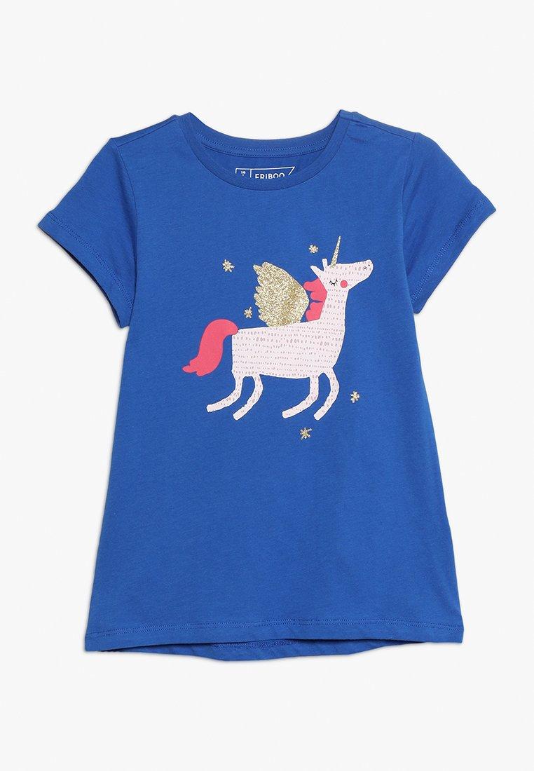 Friboo - Print T-shirt - nautical blue