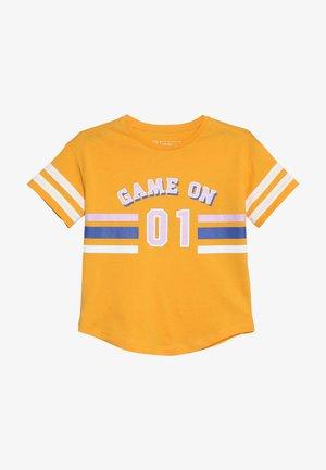 Print T-shirt - cadmium yellow