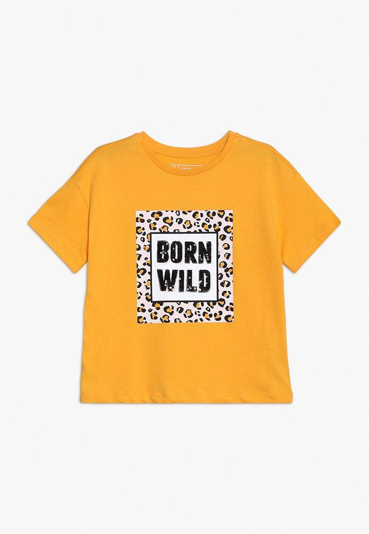 Friboo - T-shirts print - cadmium yellow