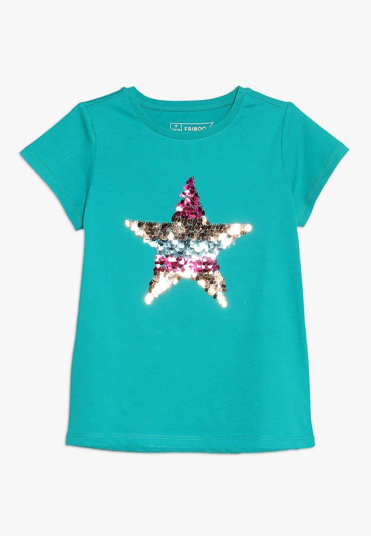Friboo - T-Shirt print - deep peacock blue