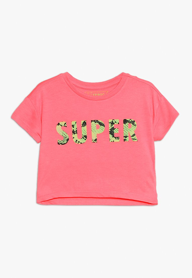 Friboo - Print T-shirt - neon pink