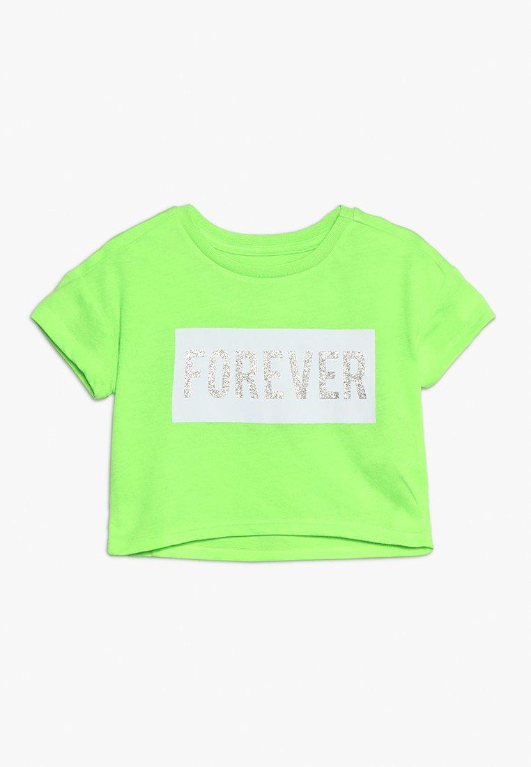 Friboo - T-shirts print - green gecko