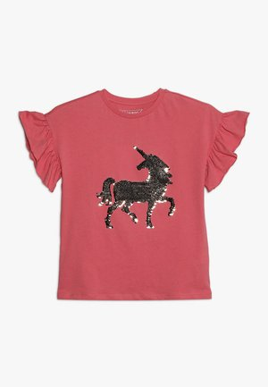 Print T-shirt - desert rose
