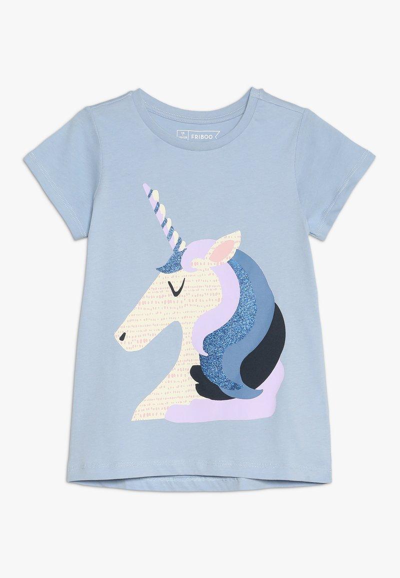 Friboo - Print T-shirt - brunnera blue