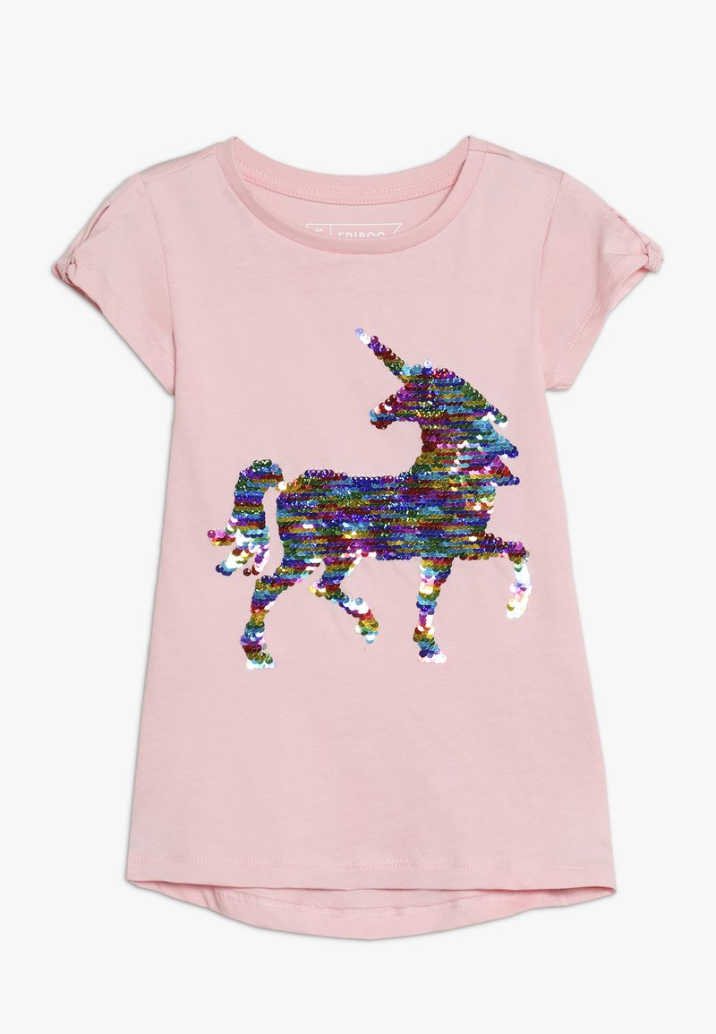 Friboo - T-shirt med print - pink