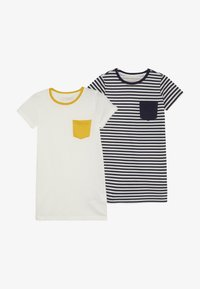 Friboo - 2 PACK  - T-shirt print - winter white - 3