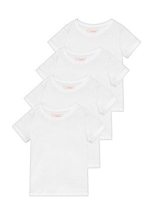 4 PACK - Basic T-shirt - winter white
