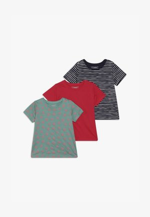 3 PACK  - Camiseta estampada - rose red
