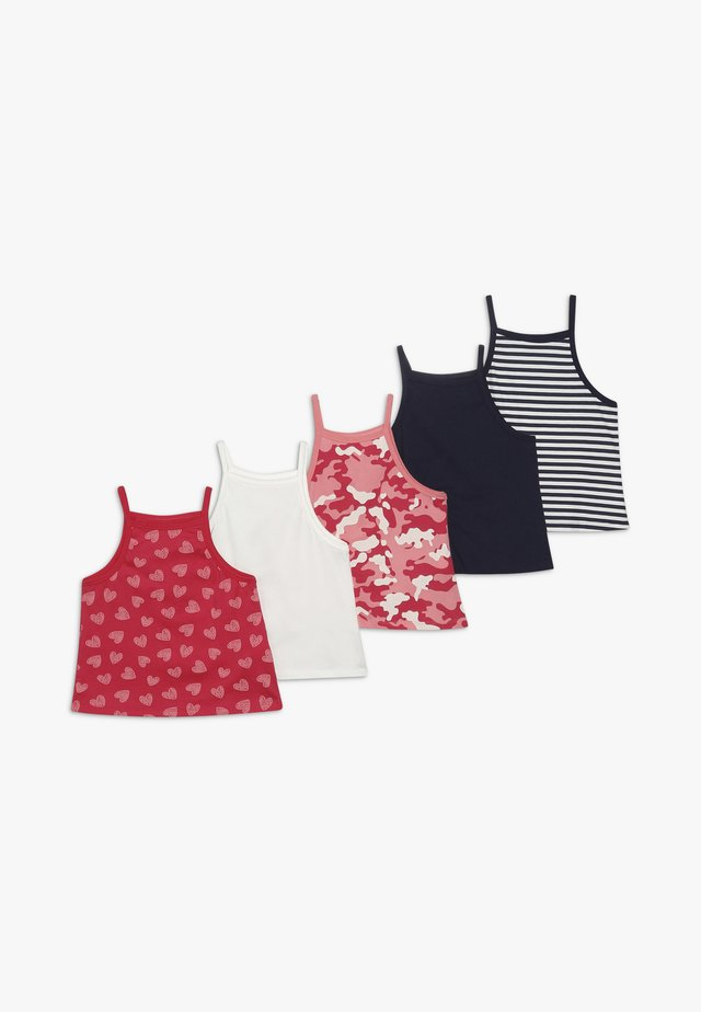 5 PACK - Top - navy/white
