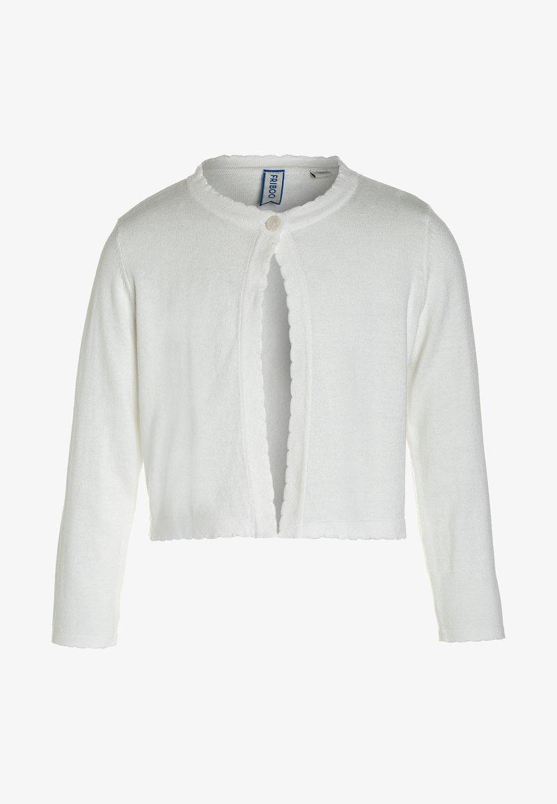 Friboo - Chaqueta de punto - white