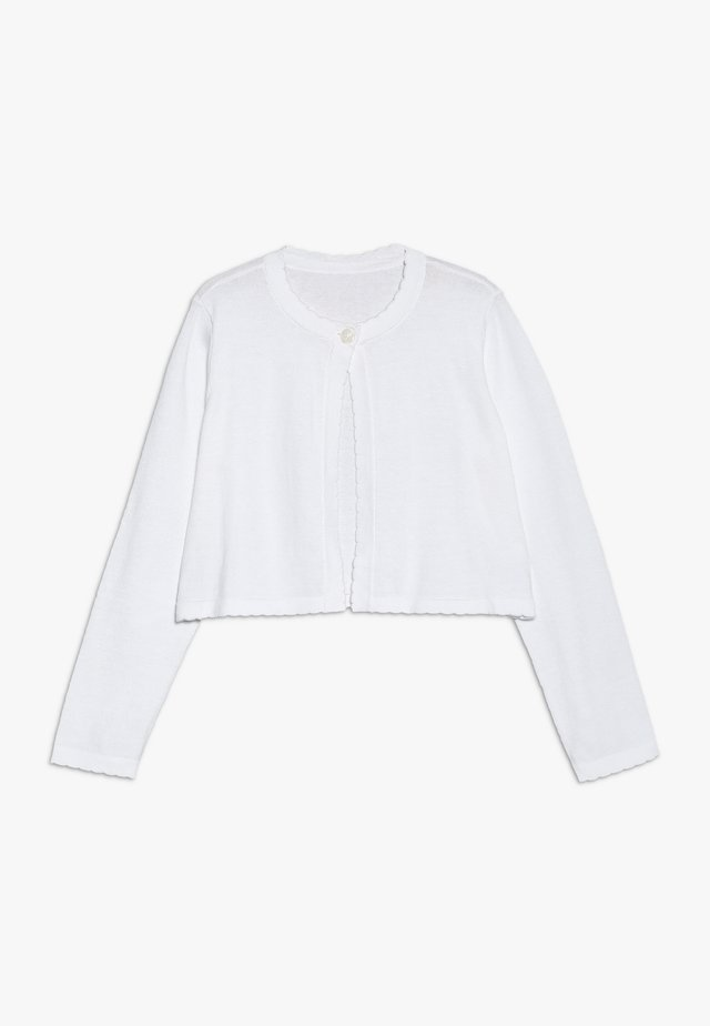 Strickjacke - bright white