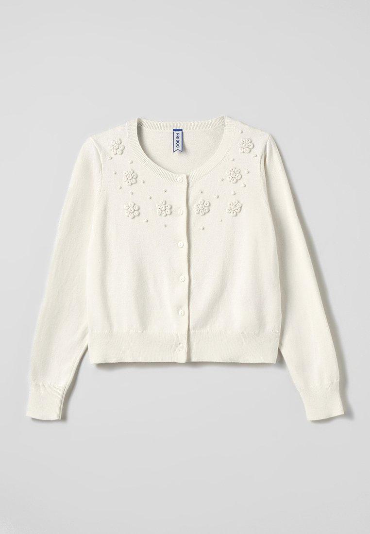 Friboo - Cardigan - white