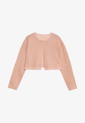 Strickjacke - rose gold