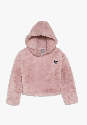Fleece jumper - powder pink