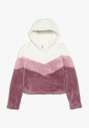Fleece trui - gardenia/pink