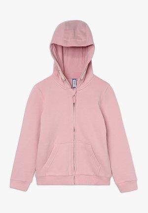 veste en sweat zippée - cameo pink